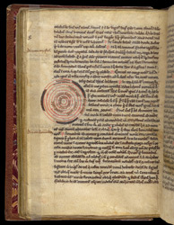 William of Conches, 'Tract on Philosophy and Man', in an Astronomical Miscellany f.115v